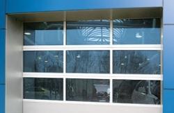 Тип 2 полотна панорамных ворот AluPro