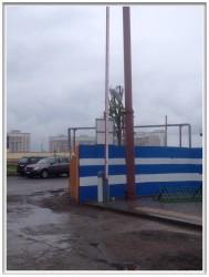 Шлагбаум, база УКС г. Могилева