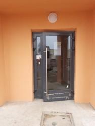 Кадино. дверь входная с домофоном ALUTECH ALT W72