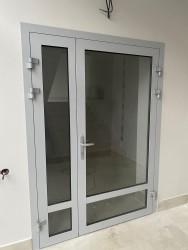 Махина ТСТ, противодымная дверь ALUTECH ALT C48