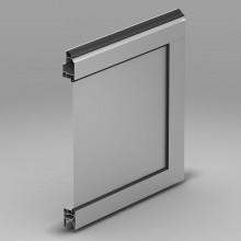 Панель с композитной вставкой. Толщина -3 мм
