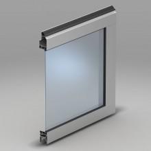 панель с одинарным акриловым остелкением. Т-3 мм