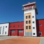 Панорамные ворота Пожарная часть БЕЛДЖИ belgee